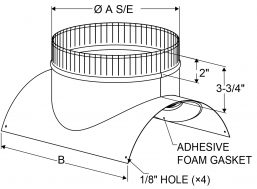 A4 - ECCO-Seal - Radius drawing