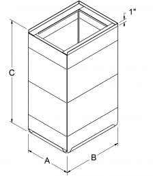Base Cans - Standard drawing