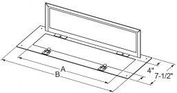 Filter Access Doors drawing