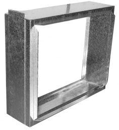 """Filter Frames - 6-3/4"""" wide flange out at 90 with 5"""" door"""