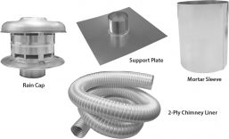 C1 - Chimney Liner Kit