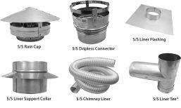 C2 - Chimney Liner Kits - S/S