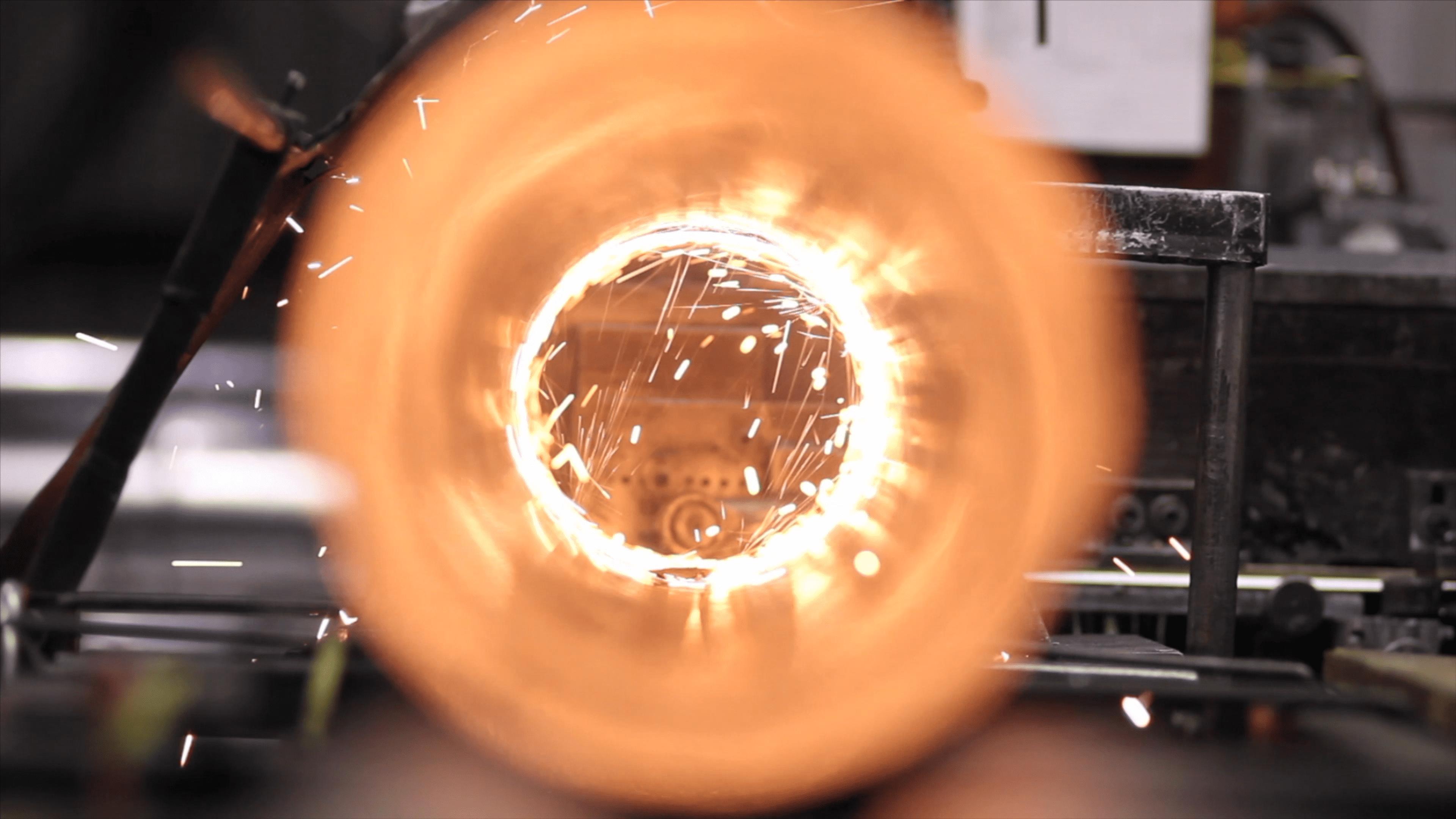 Image_sparks in pipe